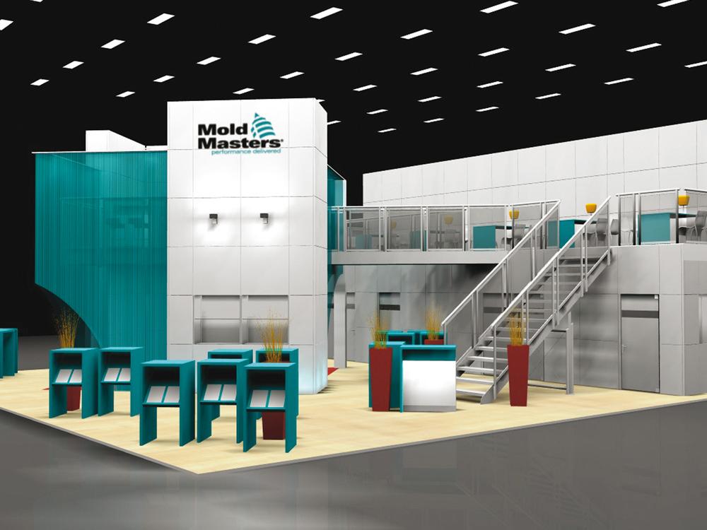 Mold Masters Europa GmbH – Für viele Gäste: eine 2. Ebene