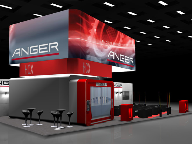 Rot dominiert   Anger   Maschinenbau   ANGER MACHINING GmbH